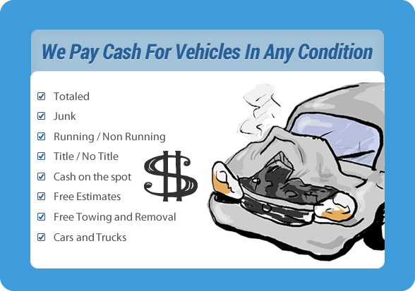 we pay cash for vehicles